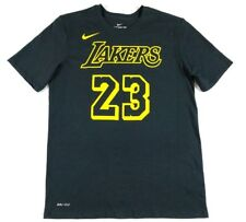 065a27385 Nike Mens Los Angeles Lakers LeBron James City Edition Player Shirt M Dri  Fit