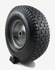 One New 13x5.00-6 R/MTurf Tire & Gray Rim Wheel Lawn Mower Tractor Kit-A6