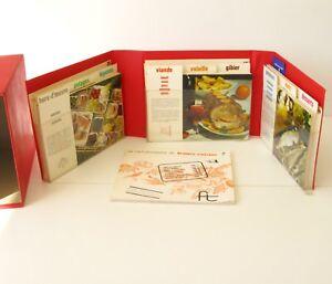 France Cuisine - Editions Felix Touron - Fiches de cuisine vintage - 1967
