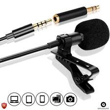 Professional Lavalier For Phone & Computer PC, Microphone Microfono para Celular