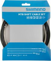 Shimano Schaltzug-Set MTB Edelstahl komplett mit Zubehör