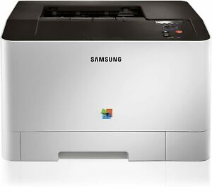Samsung CLP-415NW Colour Laser Printer with Network and Wi-Fi (Body Yellow)