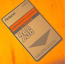 Roland Ram con Suoni Valhala Screamin  Hammond 'b3 Card  per Roland d-50/550