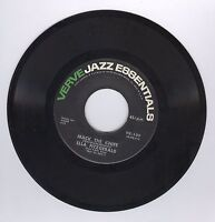 Ella Fitzgerald 45 RPM Mack The Knife / Gone With The Wind Verve Jazz  Record