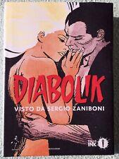 Diabolik visto da Sergio ZaniboniOscar, INK 2018 cartonato in ottime condizioni