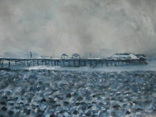 Terry George painting of Cromer Pier England