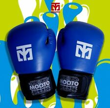 Mooto Boxing Gloves Martial arts Taekwondo MMA Muaythai Kickboxing Glove Blue