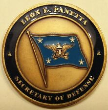 Leon E. Panetta Secretary of Defense SECDEF DOD Challenge Coin