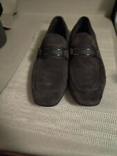 Calvin Klein Men Loafers Suede Sean Brown 12