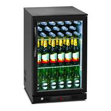 Minibar Kühlschrank Getränkekühlschrank Flaschenkühlschrank Glastür 108L Schwarz