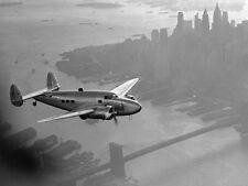"Aviation, ""Airplane Above Manhattan, 1938"" digital, 18""h x 24""w image"