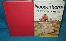 The WOODEN HORSE ~ Eric Williams. Martin Thomas.  HbDj  YOUNG readers    in MELB