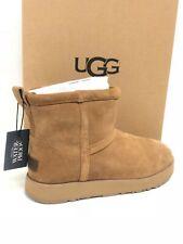 Ugg Australia Classic Mini Водонепроницаемая замша ботинки каштан 1019643 женские
