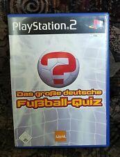 Play Station 2 Spiel PS2 Das große deutsche Fußball-Quiz + Anleitung