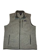 Patagonia Men's Better Sweater Fleece Vest Gray Size XL