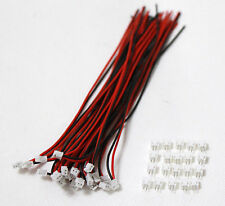50 SETS Mini Micro ZH 1.5 2-Pin JST Connector with Wires Cables 150MM