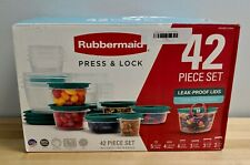 Rubbermaid Press and Lock Leak Proof 42 Piece Set Containers In Box New Other