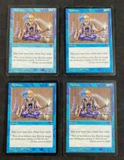 MTG Magic The Gathering Meditate Tempest Playset of 4 Cards HP