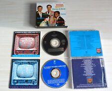 COFFRET 2 CD L'HISTOIRE DES SERIES TV AMERICAINES VOL . 1 2 ET 3 MANIX DALLAS ..