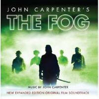 JOHN CARPENTER'S THE FOG-NEW EXPANDED EDITION  2 CD  SOUNDTRACK  NEW