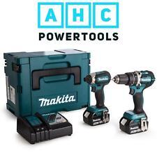 Makita DLX2180TJ Cordless Twin Pack Brushless Kit DHP458 DTD153 (2 X 5.0Ah)