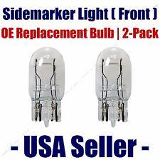Sidemarker (Front) Light Bulb 2pk - Fits Listed Honda Vehicles - 7443