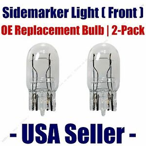 Sidemarker (Front) Light Bulb 2pk - Fits Listed Toyota Vehicles - 7443