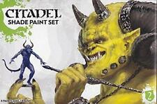 Games Workshop 60-23 Citadel Shade Paint Set 8 x 12ml Pots Shade Brush