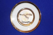 "Art of Chokin Eagle plate, approx 6 1/2"" diameter made in Japan"
