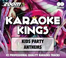 Zoom Karaoke Kings - Kids Cheesy Party Anthems - Double CD+G Set - Black Lace