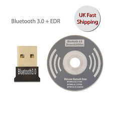 USB 3.0 ADAPTADOR DONGLE BLUETOOTH + EDR CSR para todas windows mac book