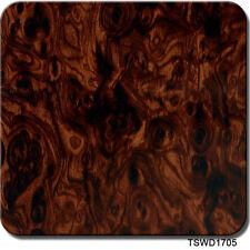 """Hydrographics Film Caramel Walnut Wood Grain 20"""" x 6.5'"""