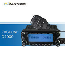 Car Walkie Talkie LED Display Transceiver ZASTONE D9000 Mobile Ham Radio VHF&UHF