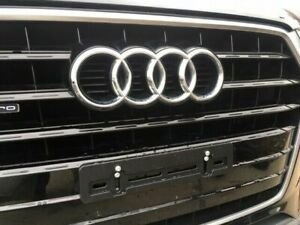 Front License Plate Tag Holder Mounting Bumper Kit Bracket for AUDI Brand New