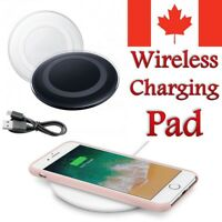 Qi Wireless Charger Charging Pad For iPhone 8 Plus XR Max 11 Samsung S8 S9 S10 +