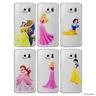 Disney Princesse Gel Coque pour Samsung Galaxy S6 Protecteur D'écran Étui Case