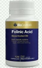 Folinic Acid for Anxiety, Depression, Mental Health - 120 caps  OzHealthExperts