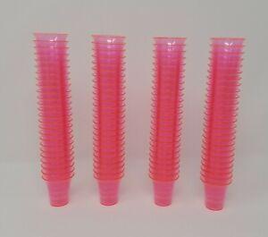 Lot De 100 Rose Miniature Plastique Communion Tasses Artisanat Maison Pots