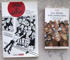 Cabu au Japon EO 1993 + Les abrutis sont parmi nous