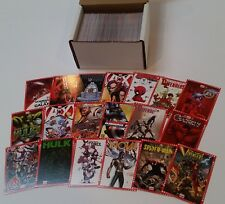 2014 Marvel NOW! Cutting Edge Covers Complete Base + Variant Set 130 Cards !