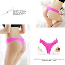 4b50a306b6e Women Underwear Thong G-string Panties Seamless Underpants Briefs Lingerie