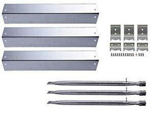 Char Griller Gas Grill Replacement Parts Kit Heat Plates Burners Char griller 3