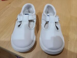 Keds Toddler Little Girl's Daphne Mary Janes Flats Sneakers Memory Foam White 7W