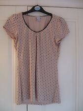 H&M stretch top - Eur S ( approx Size 10 )