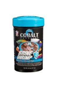 .5oz Cobalt Brine Shrimp Flakes, FREE 12-Type Pellet Mix Included