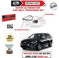 GATES Alternador Ventilador Tensor de Correa Kit para Volvo XC60 D3 D4 D5 Y 2.4D
