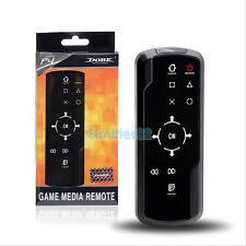 Bluetooth 3.0 Wireless Media Bluray DVD Remote Control Fr Sony PS4 Accessory BLK