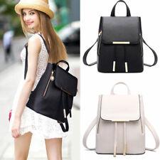 Fashion Women Backpack Travel PU Leather Handbag Rucksack Shoulder School Bag US