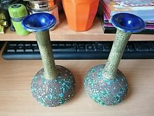 More details for from a house clearance pair of royal doulton stoneware vases art nouveau 6434