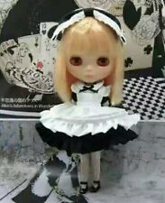Blythe Outfit Clothing Maid dress set (black)